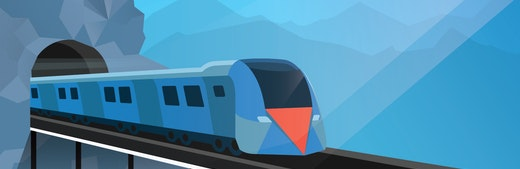 Mountain Train 1920x1080